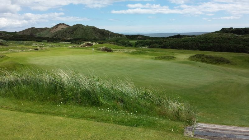 Planning Golf Tours 2018 |Royal County Down Eight Golfers September 2018