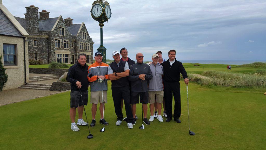 Fun times Irish Golf Tee Times