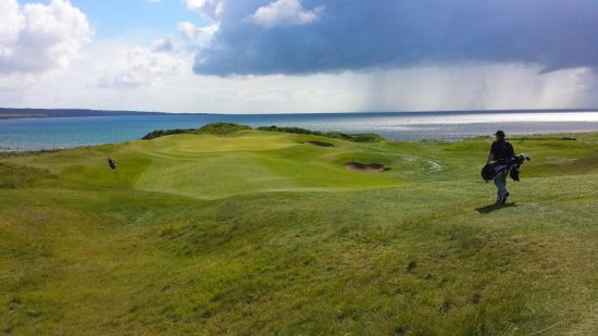 Top 3 irish golf holes