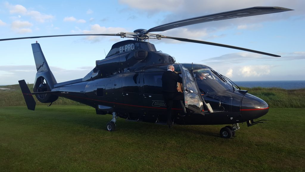 Helicopter Golf Ireland