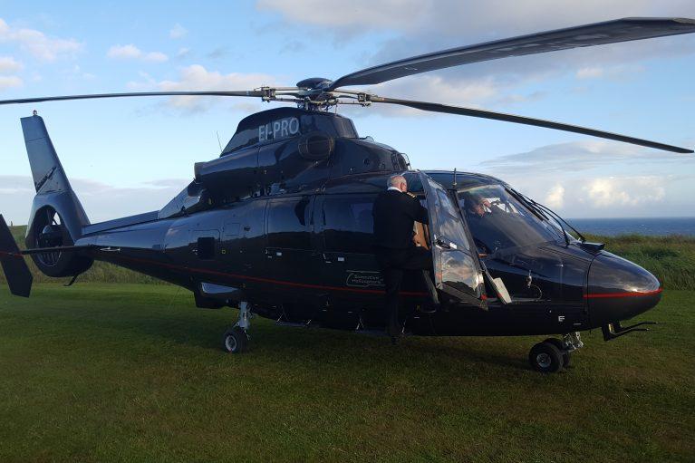 Helicopter Golf Ireland