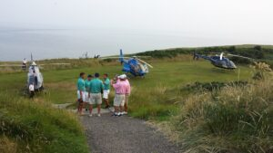 Golf Ireland Helicopter tours