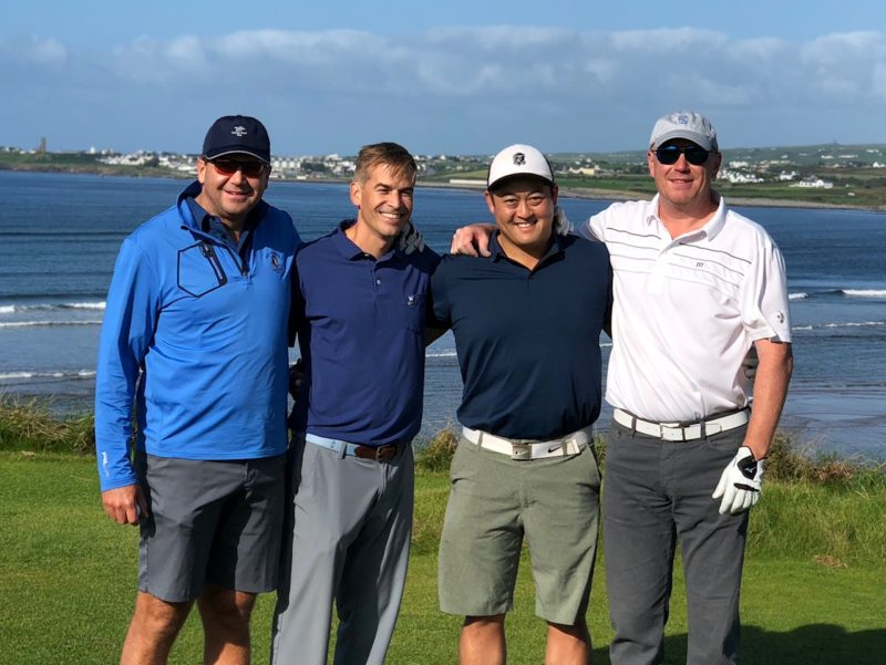 Enjoying Golf in Ireland