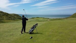 Top golf courses in Ireland, Golf Southwest of Ireland, Waterville Golf Links, Lahinch Golf Club, Cork Golf Club, Old Head Golf Links.