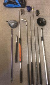 Airline Trashed Golf Clubs, Golf Travel Bag,