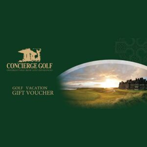 Golf Vacation Gift Voucher