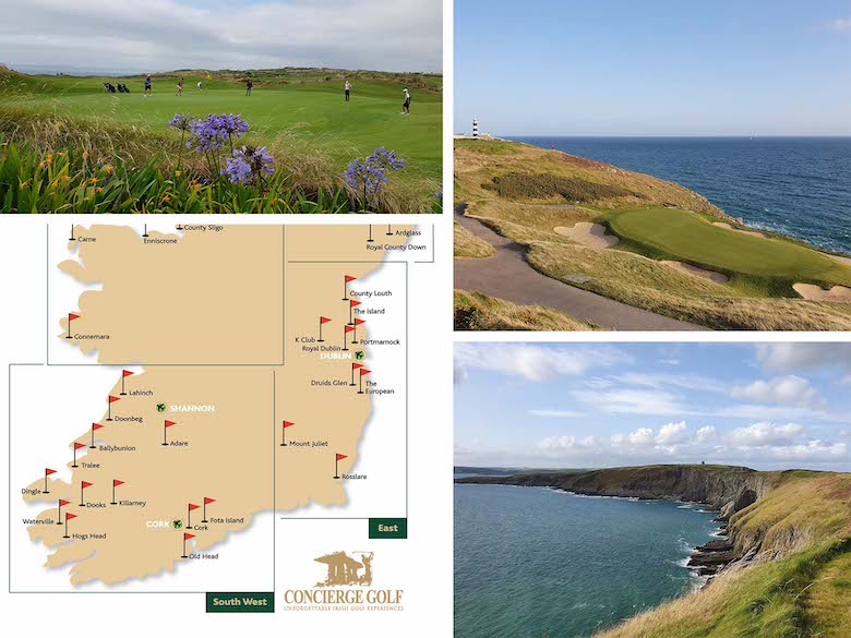 Couples Golf Ireland   Ireland Golf Trips Couples