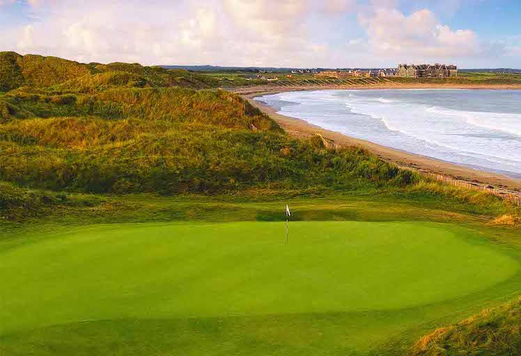 The Last Swing, Ed Tovey, Old 5th Hole at Doonbeg