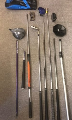 Airline Trashed Golf Clubs, Golf Travel Bag,